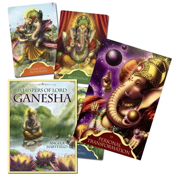 Whispers of Lord Ganesha by Angela Hartfield