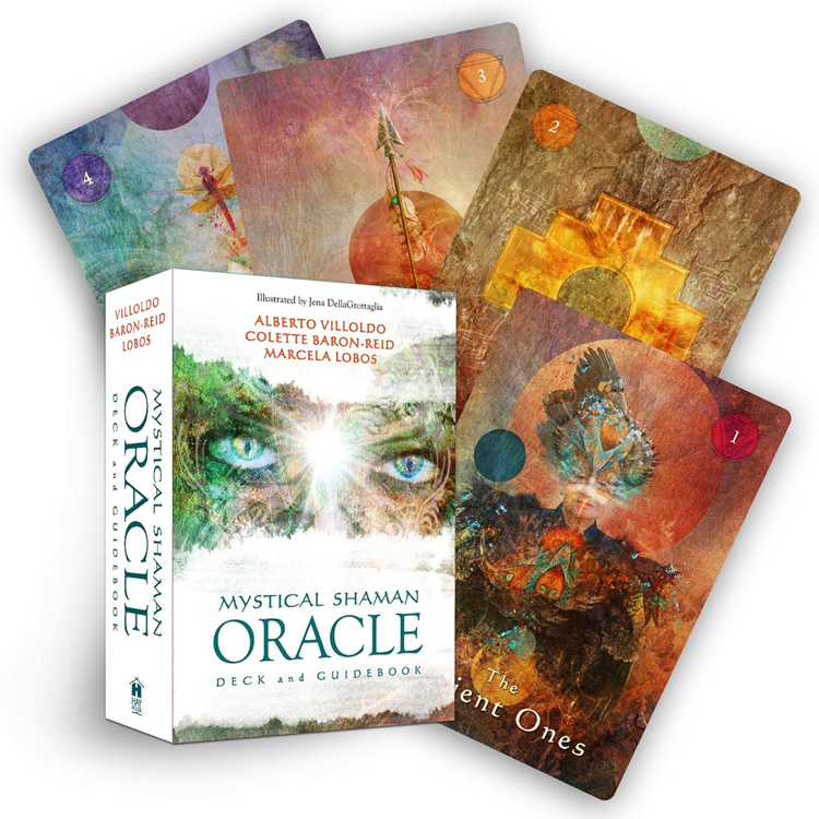 Mystical Shaman Oracle Deck and Guidebook by Colette Baron-Reid