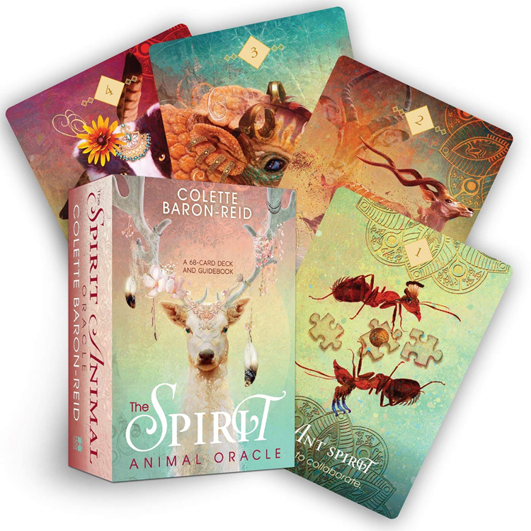 The Spirit Animal Oracle: A 68-Card Deck and Guidebook by Colette Baron-Reid